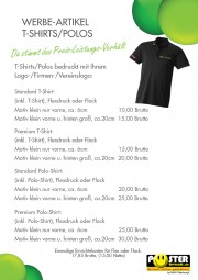 T-Shirt und Polo-Shirt
